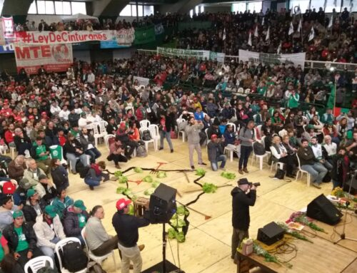 JUNTO A MILES DE CAMPESINOS: EL MTE PARTICIPA DEL PRIMER FORO POR UN PROGRAMA AGRARIO SOBERANO Y POPULAR
